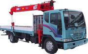 Продаём грузовик с крановой установкой Южно Корейский.