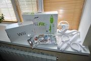 игр. приставка Wii + доска Wii Fit,  ИГРЫ аксессуары