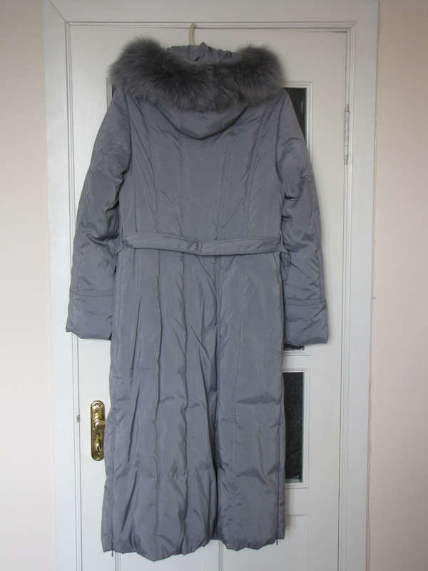 Новый длинный пуховик женская одежда