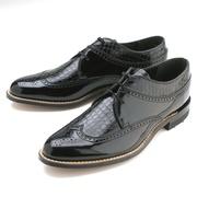 Черная и коричневая обувь Stacy Adams
