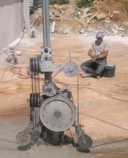 Алмазная резка армированного бетона техникой алмазной резки.