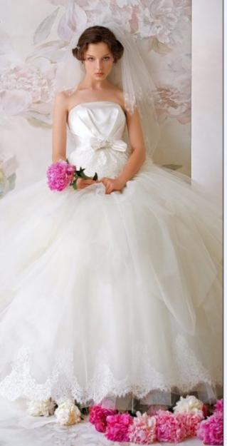 Свадебные платья с манто
