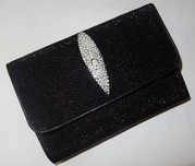 кошелек из натурального ската из тайланда
