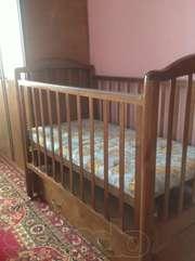 Детская деревянная кровать российского производства
