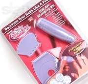 маникюрный комплект для ухода за ногтями и их украшения Nail Art Salon
