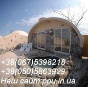 Купольные дома  110$ за м.кв, оборудование для производства