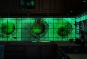 Светящаяся настенная декоративная отделочная плитка