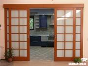 Изготовим межкомнатные двери,  шкафы купе,  покраска кухонных фасадов