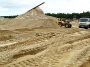 Продажа песка,  щебня,  дресвы,  грунта.  Купить в  Астане.