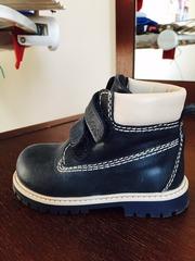 Ортопедическая обувь весна-осень на мальчика 21 размера