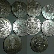 Юбилейные монеты РК и РФ, СССР, Царские банкноты и зарубежная валюта