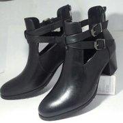 женские ботильоны обувь кожаные