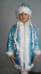 Карнавальный детский костюм Снегурочка