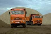 Строительный песок с доставкой в г.Астана