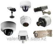 Монтаж IP - видеонаблюдения в Астане