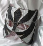 Карнавальные маски папье-маше на прокат в Астане