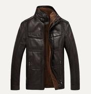 Мужская куртка с меховым утеплением