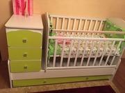 Детская кровать 2 в 1.40000