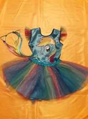 Карнавальный костюм Пони Радуга