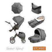 Stokke Xplory V5 полная коляска + люлька - Полная версия