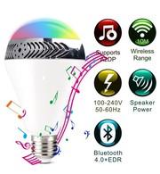 LED лампа с Bluetooth динамиком,  RGB подсветкой
