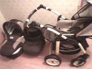 Детская коляска 3в1 новая. 90 000 тенге.