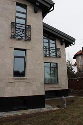 Дерево-алюминиевые окна из сосны с Белоруссии Кокшетау