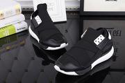 Ультра модные кроссовки Y3 черно-белые
