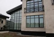 Европейские дерево-алюминиевые окна из лиственницы Казахстан