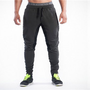 Зауженные штаны Gym Aesthetics темные с черным