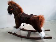 Большая музыкальная лошадка-качалка со скидкой! Акция несколько дней!