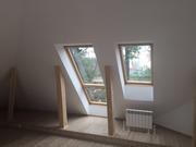 Velux мансардное белое полиуретановое окно Казахстан
