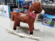 Музыкальная лошадка-качалка со скидкой! Акция! Подарок!