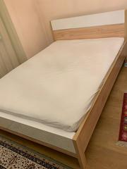 Продаются кровать+матрас (отдельно/комплект с шифоньером и столом)!