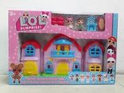 Домик для кукол LOL/Дом для куколок ЛОЛ/Отличный подарок/Качество/