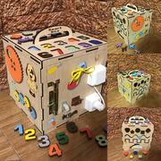 Бизикуб/Бизибокс/Smart box/Ручная работа/Развивающая игрушка