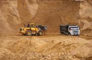Срочно! Песок мытый карьерный дешево 750 тг за кубометр
